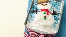 Confetti Snowman Cake Recipe