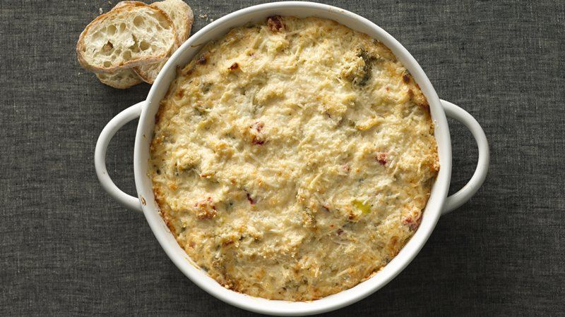 Broccoli and Artichoke Party Dip