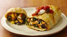 Southwest Mini Crescent Burritos Recipe
