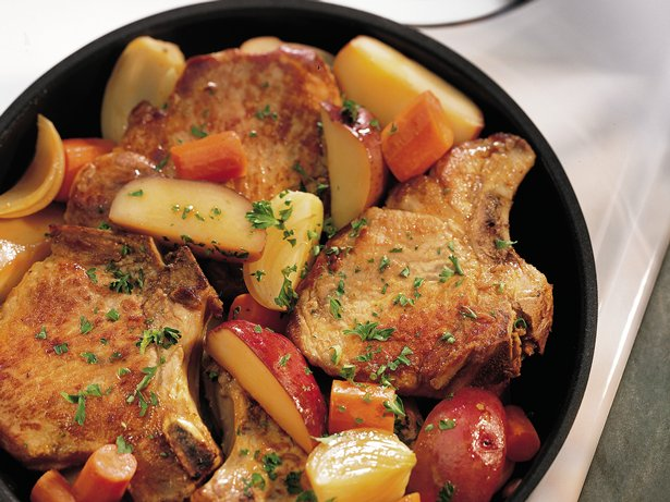 Pork Chop Skillet Dinner