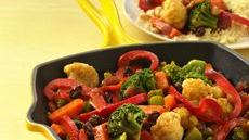 Vegetable Curry with Couscous Recipe