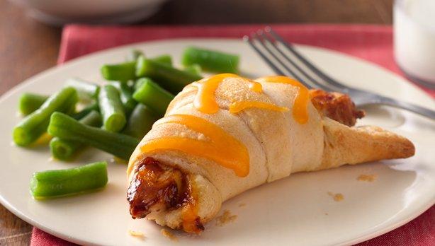 Easy BBQ Chicken Crescents