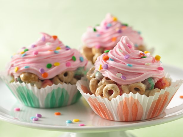 Cereal Cupcakes