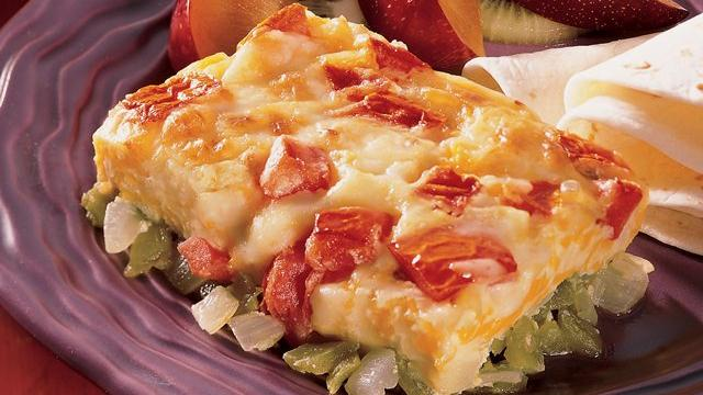 Cheesy Chile Rellenos Casserole