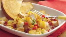 Calico Chicken and Potatoes Skillet Recipe