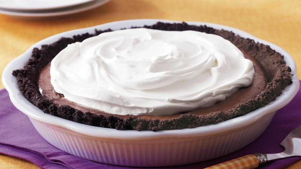 Full Moon Chocolate Pie