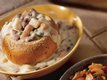 Vegetable Chowder in Bread Bowls