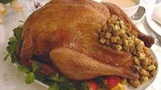 Stuffed Roast Turkey and Gravy Recipe