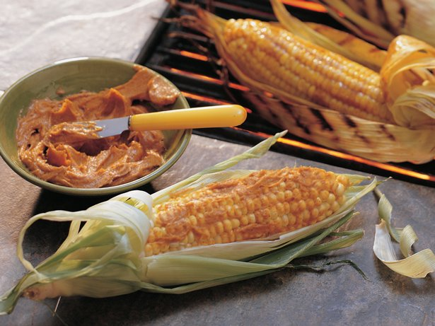 Spicy Grilled Corn