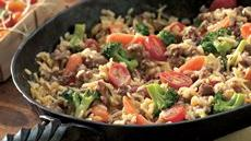 Beefy Rice Skillet Recipe