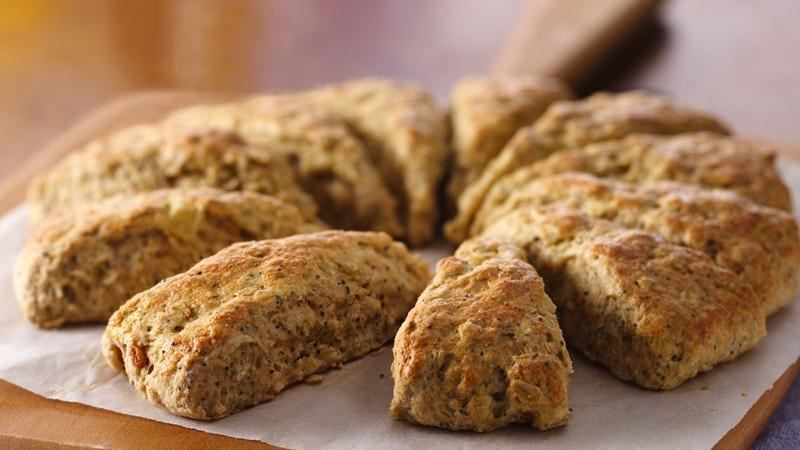 Onion Poppy Seed Scones