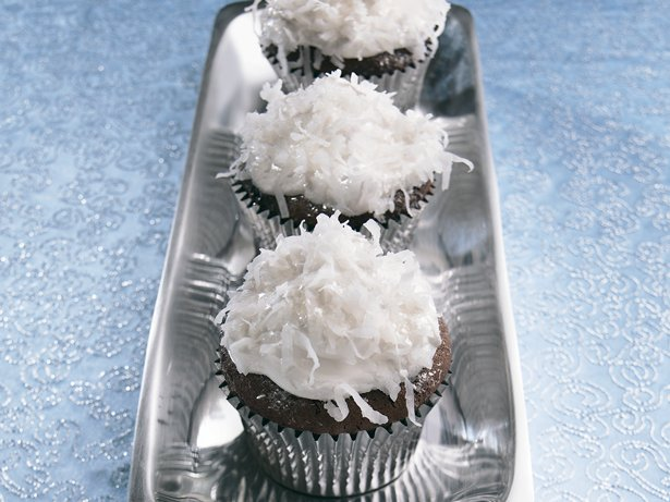 Snowball Cupcakes