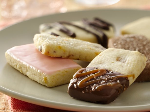 Five Way Shortbread Cookies