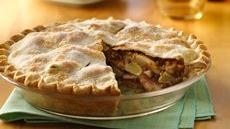 Apple-Pear-Pecan Harvest Pie Recipe