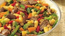 Orange-Szechuan Beef Stir-Fry Recipe