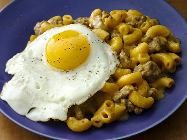 Fried Egg Cheeseburger Skillet
