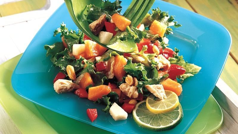 Asian Salad with Lime Dressing
