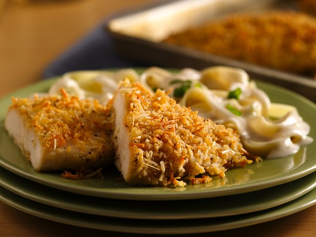 Crispy Garlic Parmesan Chicken