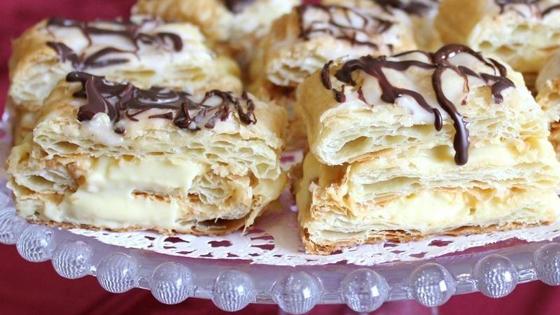 Vanilla Cream Napoleons