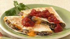 Roasted Potato-Black Bean Quesadillas Recipe