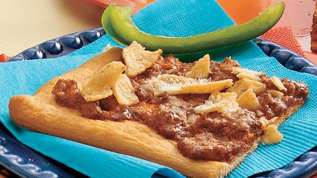 Chili con Crescent Snacks