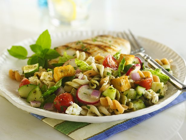 Fattoush Pasta Salad