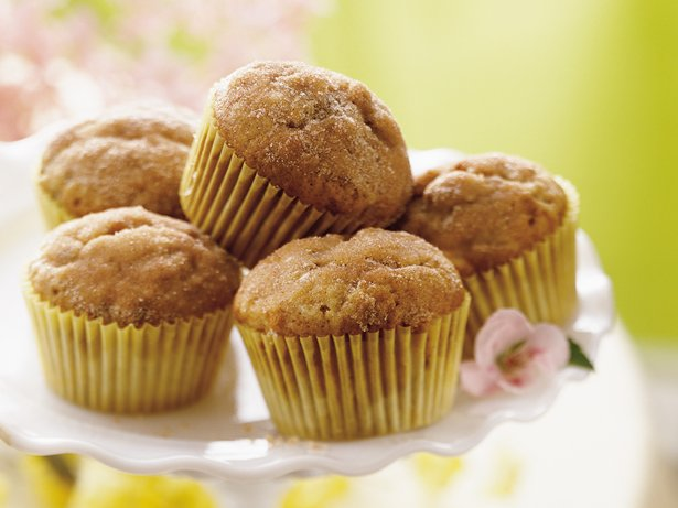 Banana-Cinnamon Muffins