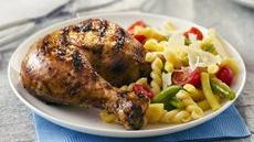 Grilled Garlic, Lemon and Pepper Butterflied Chicken Recipe