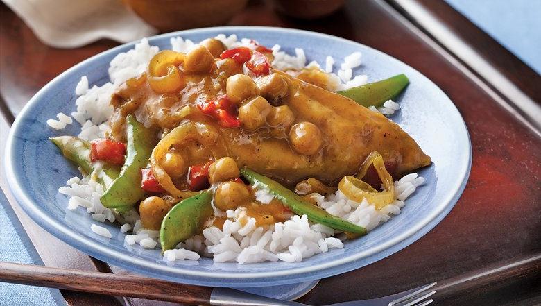 Easy Chicken Curry Recipe With Mango Chutney