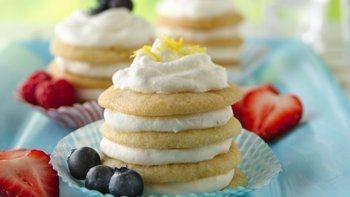 Lemon-Ginger Icebox Cookie Cupcakes