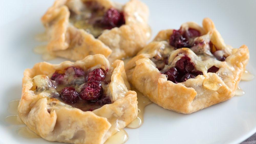 Mini Cranberry and Swiss Tarts