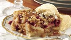 Cranberry-Apple Pie Squares Recipe
