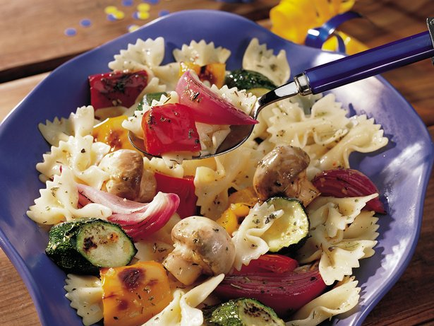 Grilled Veggie-Pasta Salad