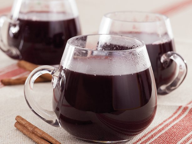 this traditional mulled wine that features red wine, brandy, honey ...