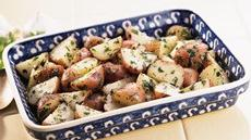 New Potatoes with Garlic and Cilantro Recipe