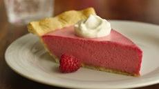 Raspberry-Lavender Cream Pie Recipe