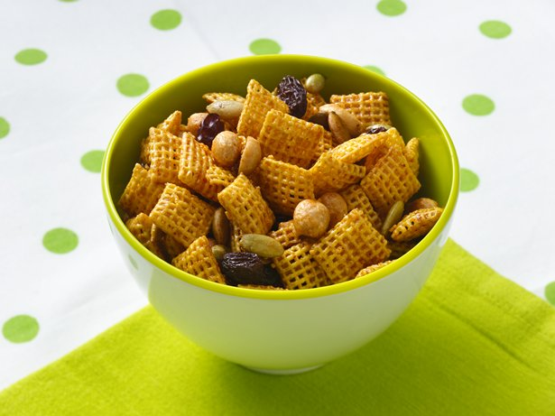 Gluten Free Sweet and Spicy Honey Nut Chex Mix