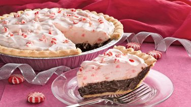 Holiday Chocolate-Mint Pie