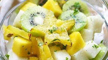 Watermelon, Mango, and Jicama Salad recipe - from Tablespoon!