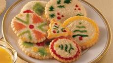 Eggnog Cut-Out Cookies Recipe