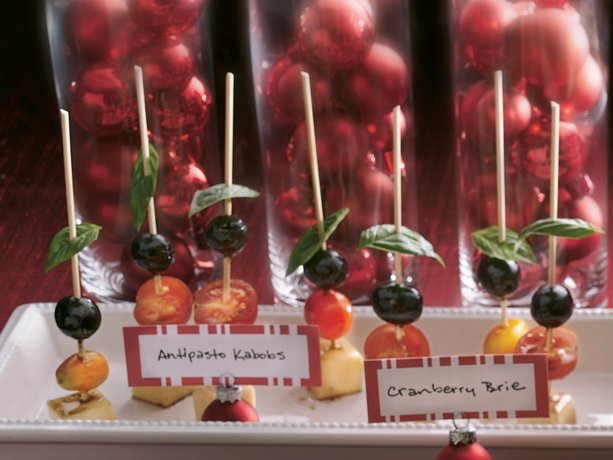 Image of Antipasto Kabobs, Betty Crocker