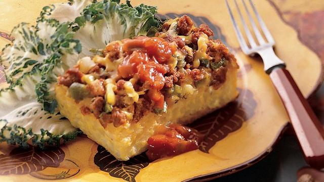 Southwestern Egg Bake