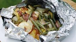 Grilled Summer Veggie Foil Packet