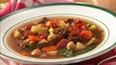 Slow Cooker Easy Italian Sausage Vegetable Soup Recipe
