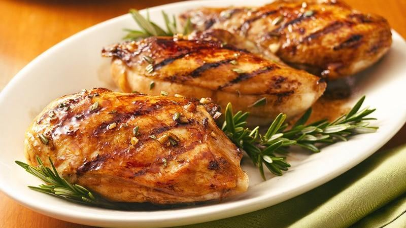 Balsamic-Glazed Grilled Chicken Breasts recipe from Betty ...