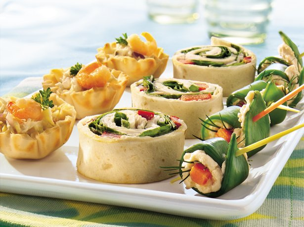 Seafood Salad Tartlets