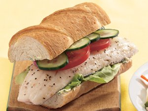 Baked&#32;Fish&#32;Sandwiches