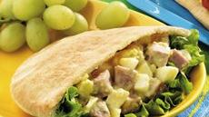 Ham Salad Pitas Recipe