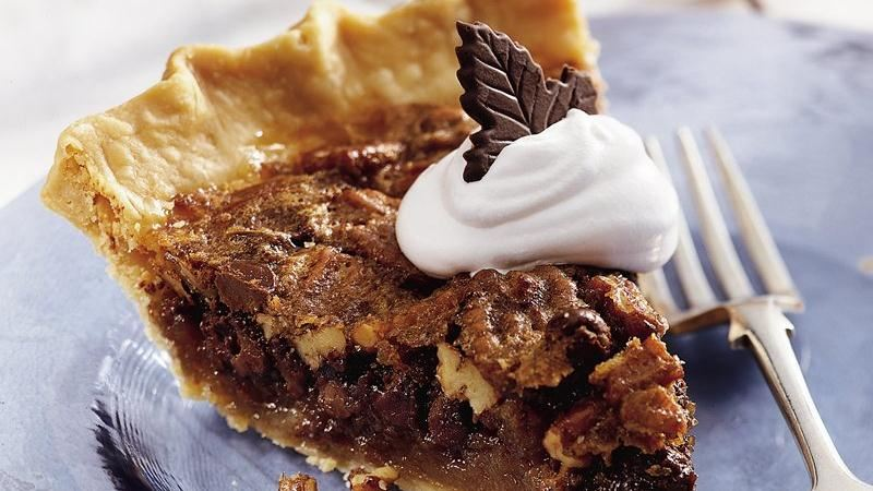 Chocolate Pecan Pie recipe from Betty Crocker