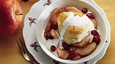 Cranberry Apple Cobbler Recipe